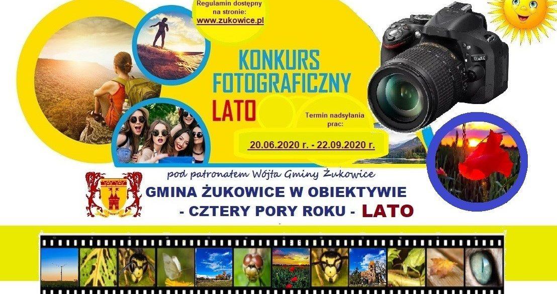 """Konkurs fotograficzny """"Gmina Żukowice w obiektywie – cztery pory roku – Lato"""""""