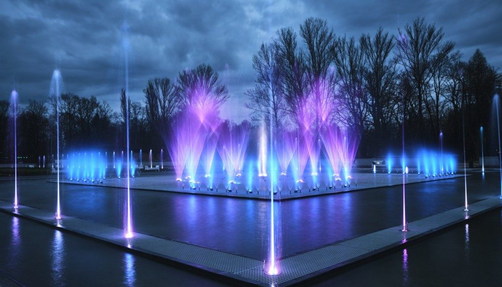 Nowe godziny pokazów legnickich fontann