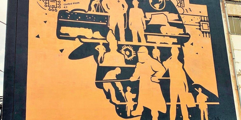 Pierwszy w Polsce miedziany mural. Można go podziwiać w Legnicy